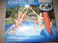 Intex Volleyball and Basketball set for 15' to 18'