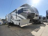 2014 Voltage 3905 Toy Hauler by Dutchmen. -Luxury