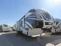 2014 Voltage 3990 Toy Hauler by Dutchmen -3 A/Cs. -12