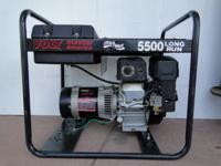 Voltmaster 5500 Watt Gas Generator 9HP Subaru Engine