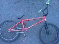 i have a volume bmx bike that has nothing unstock on