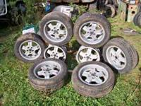 I have two sets of Volvo Turbo Wheels. Asking $200.00