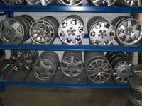 Large selection of factory Volvo wheels, some steel and