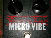 Classic 1968 Uni-Vibe Sound in an Affordable 9V