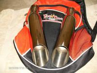 Used dual slip-on shorty Voodoo Exhaust pipes for 2008