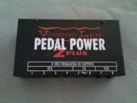 Voodoo Lab Pedal Power 2 Plus.  Email or call Scott