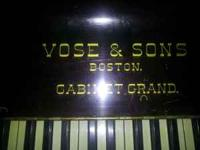 Vose & Sons Antique Piano. Best offer. Need to move it.