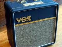 Vox AC4C1-BL Tube Amp. Great sounding and looking tube