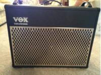 Vox AD100VT Guitar modeling amp. Amp is a 2x12. Used at
