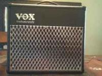 I'm selling my VOX AD30VT amp. I stopped playing guitar
