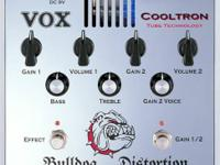 For sale: Vox Bulldog Tube Distortion pedal. A tube in