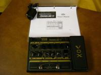 VOX TONELAB ST multi-effects guitar pedal that I bought