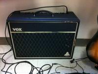 I have a VOX Cambridge Reverb for sell with a 15 watt