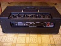 Hello this is my Vox Valvetronix AD100VTH amp head that