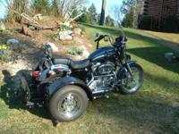 Voyager Trike Kit for sale. Change your motorcycle to a