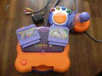 Vtech Vsmile game system with controller and 2 games