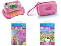 The Vtech MobiGo2 Value Bundle - Pink will make a great