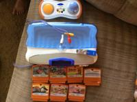 I am selling a Vtech Motion learning game system.  It