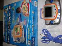 VTECH- V.SMILE POCKET LEARNING SYSTEM. WORKS ON THE