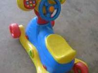 Ride-On or Rocking VTech toy. Car sounds and noises