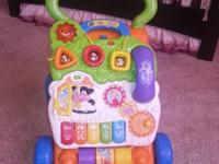 Vtech Sit and Stand Learning Walker   Features: