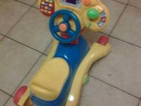 Vtech 3 in 1 smart wheels. Excellent condition. $5 cash