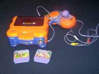 Vtech Smile video game system with one controller. Also