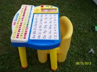 Used and in good condition.  Teaches spelling. Also