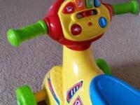 Vtech Kids Bike for 25$. Its like new.