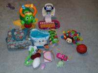 Vtech bouncing colors turtle, vtech insane legs