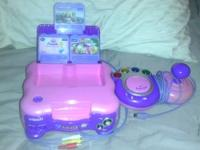 VTech - V.Smile Tv Learning System - Pink and Vtech