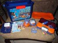 VTech V. Smile TV Learning System in like new condition