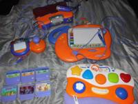 Used Vtech V.smile video gaming console for toddlers.