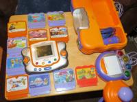 VTech VSmile pocket (handheld) with 11 games.  Also
