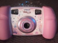 Vtech Kidizoom Digital camera in pink, gently used, 1.3