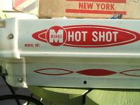 WOW! RARE MODEL # 961 Hot Shot Table Hockey Game By