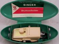 Singer Pink  Sewing Machine Buttonholer.  Hello I have