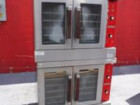 Vulcan Electric Double Stack Full Size Convection