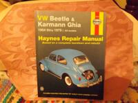 HAYNES REPAIR MANUAL, BASED ON A COMPLETE TEAR DOWN AND