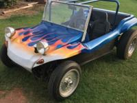 Manx style dune buggy, 1974 Beetle chassis, street