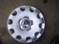 SET OF FOUR HUBCAPS FOR VW CARS .15 inch.. Location: