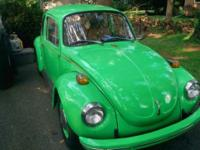 Bug is in great condition for the year. Low miles. Runs