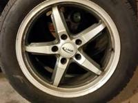 Offering a set of four vw wheels and tires bolt pattern