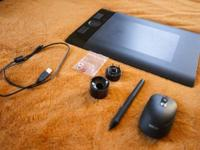 Hi!  I have a Wacom Intuos 4 Tablet for sale. It is the