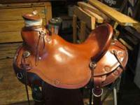 16inch Wade All Around Circle Y Saddle. Great shape,