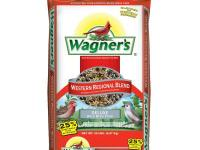 Use Wagner's Western Regional Brand Bird Seed to