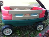 Cute wagon, by Little Tikes, in great shape although