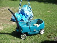 THIS IS A NICE TWO SEATER WITH DOOR STOW N GO WAGON