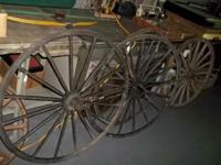Large Wagon / Buggy Wheels - selling $75.00 EACH I have