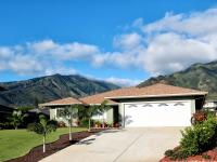Brand new custom home in Waiolani Mauka completed in